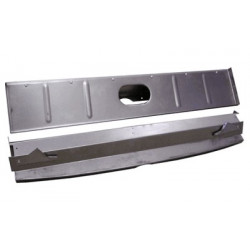 1933/34 Roadster, Coupe & Cabriolet lower drip channel gutter, used with trunk lid