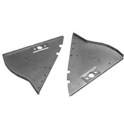 1933/34 Roadster, Coupe & Cabriolet lower inner trunk corner triangular gussets
